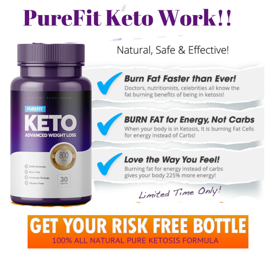 Purefit keto diet pills review image
