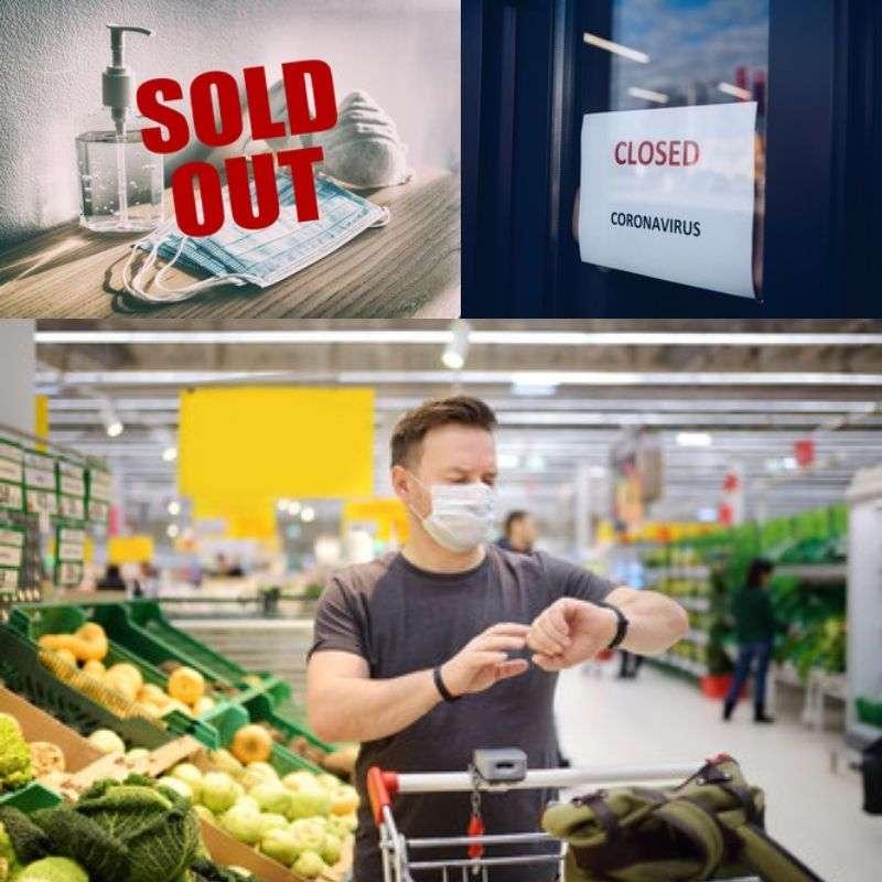 Coronavirus Lockdown Shopping