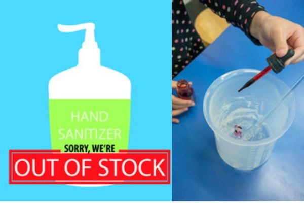 Make Hand Sanitizer at Home