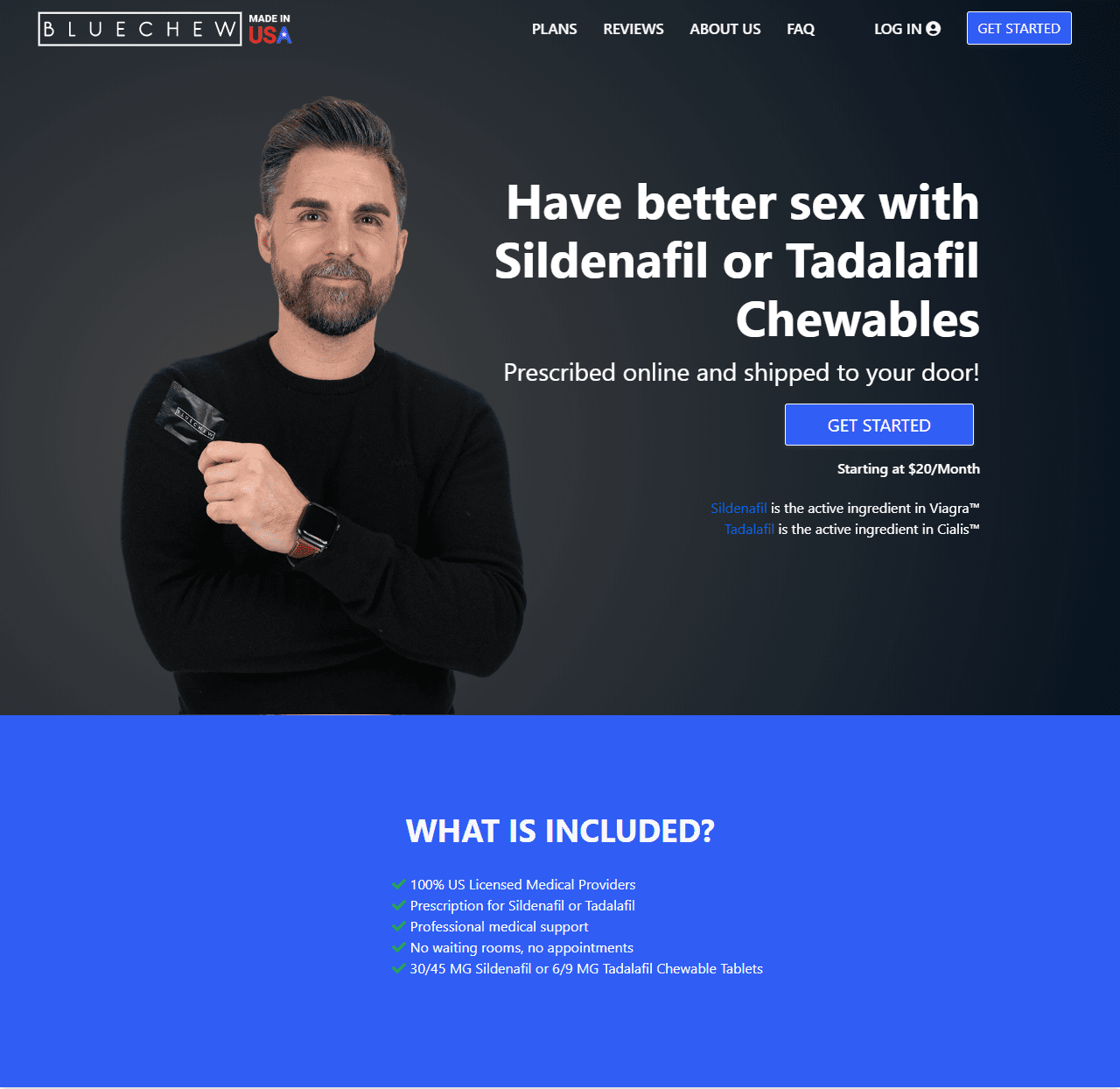 What is Bluechew