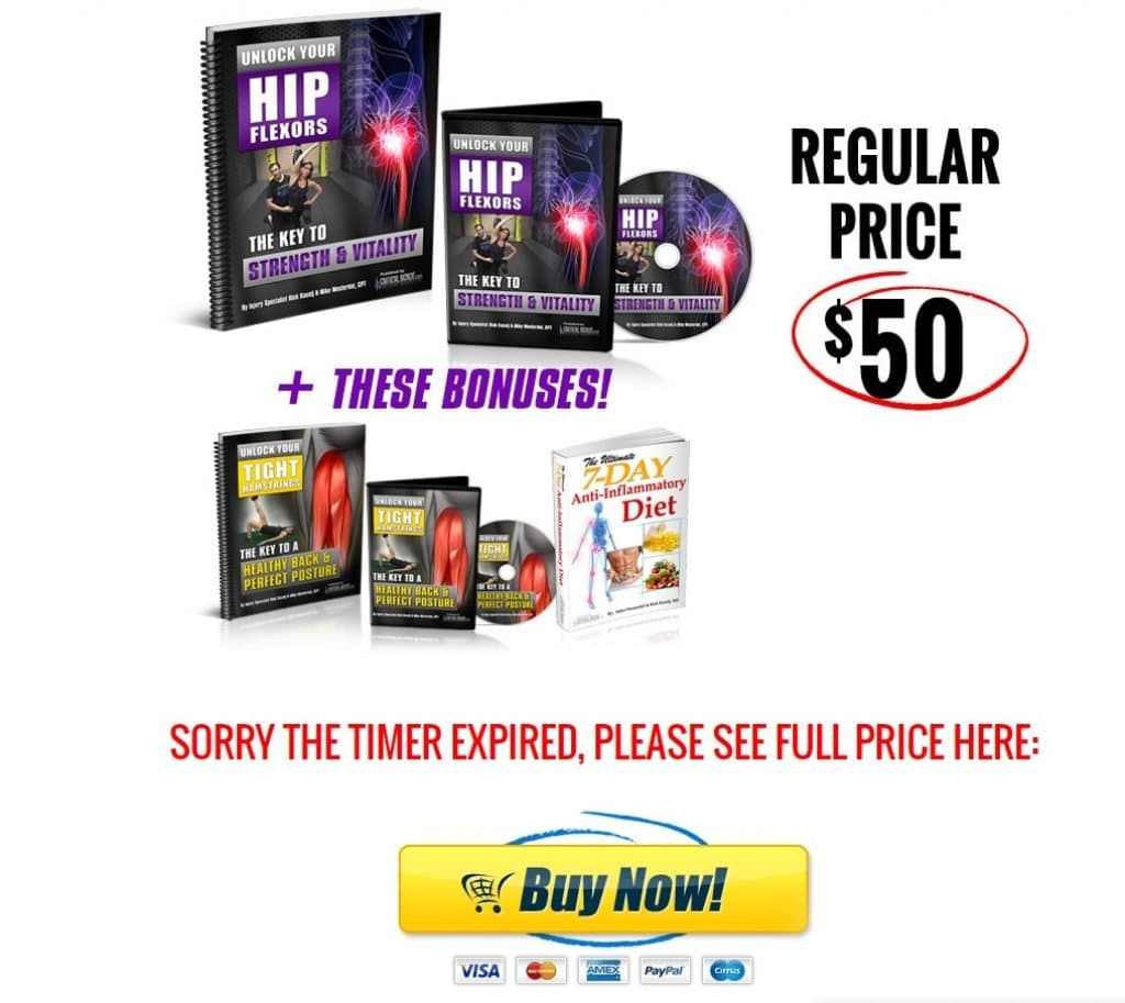Buy Unlock Your Hip Flexors