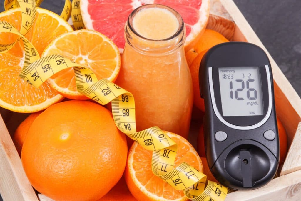 Craving Orange juice Diabetes