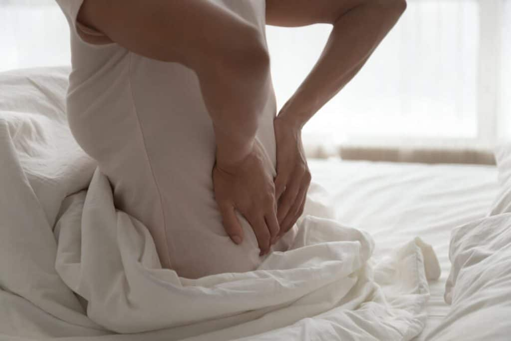 buttock pain when sitting