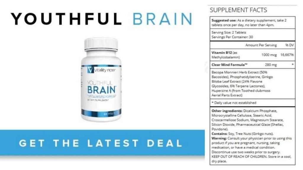 Youthful Brain Ingredients