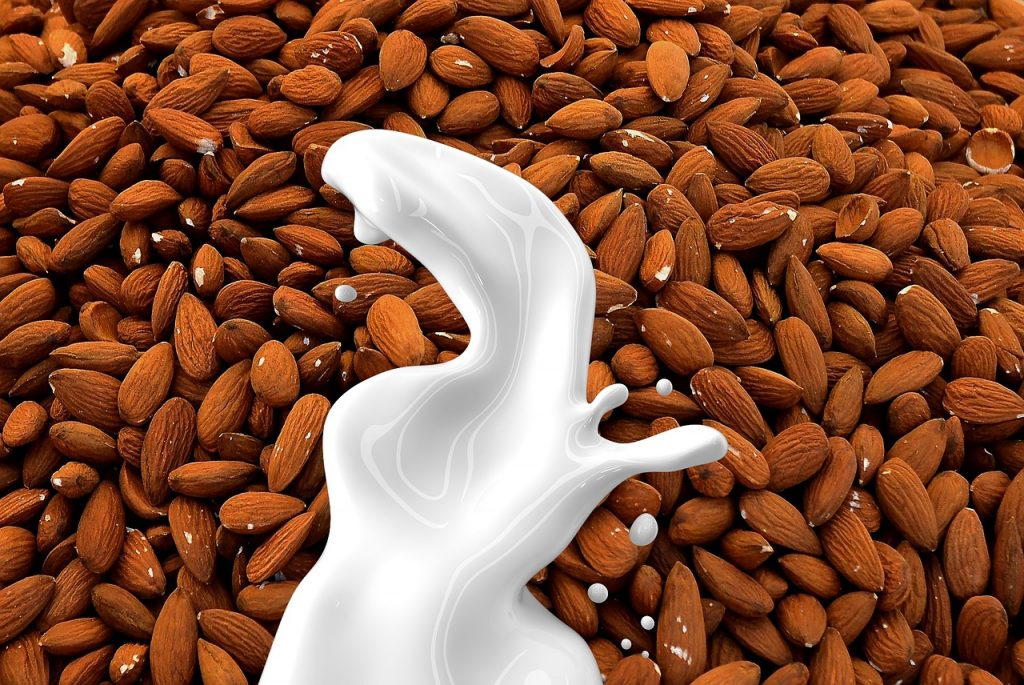 Almond extract milk