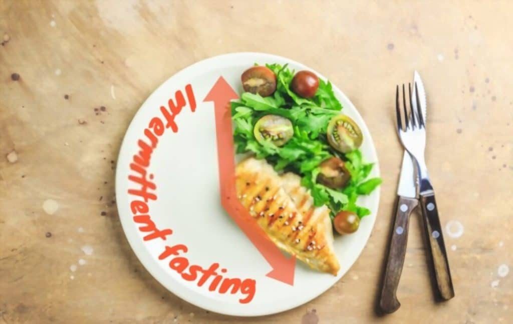 intermittent fasting without exercise is possible with balanced diet