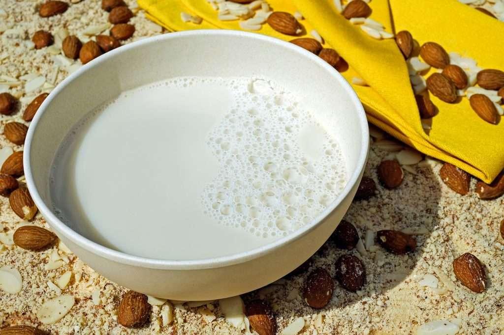 Almond milk recipe __ homemade almond extract milk