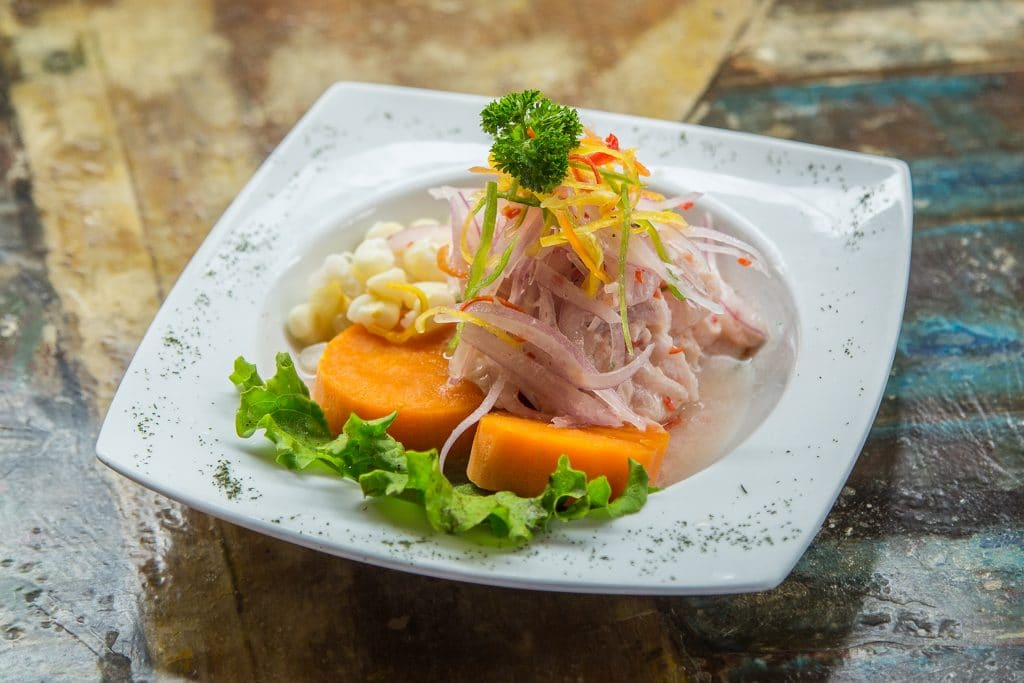Is Ceviche healthy?  Eat ceviche with a number of additional flavorings.