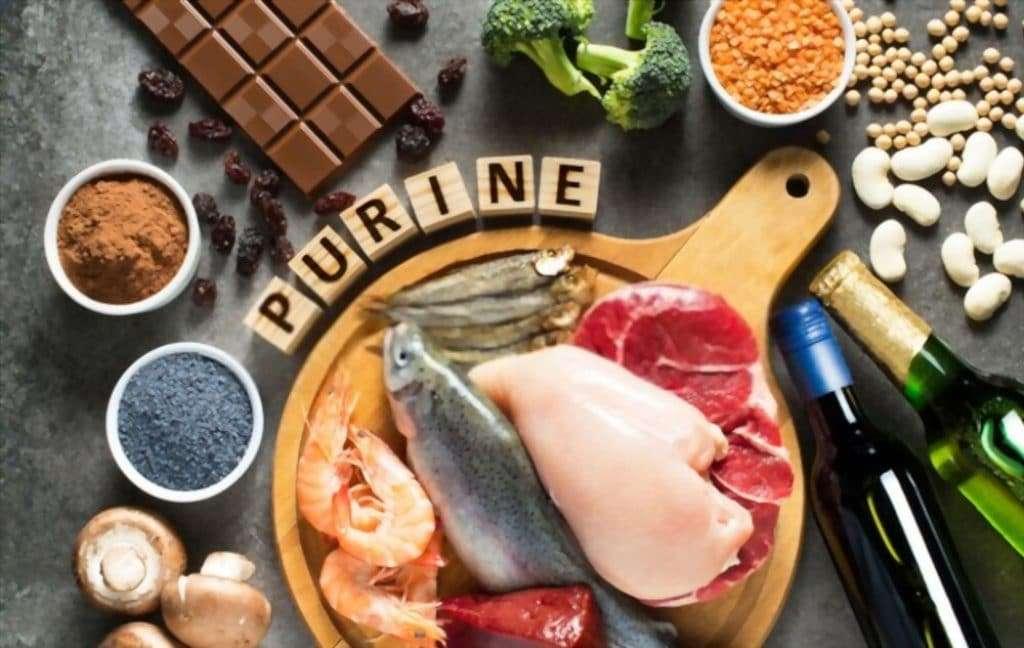 low purine foods chart
