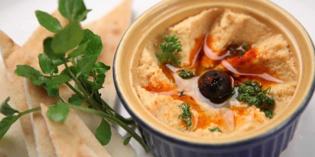 what to dip in hummus