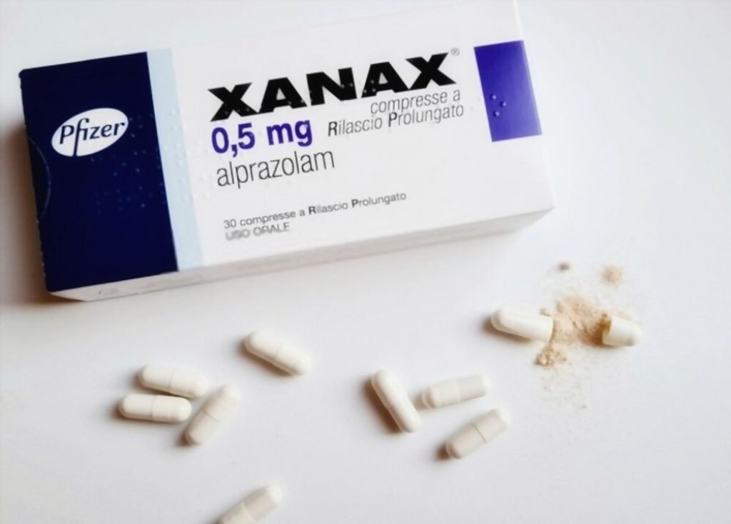 taking Xanax on an empty stomach can be harmful