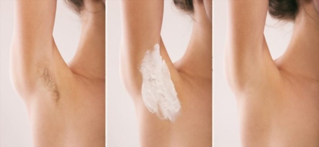 Hair Removal Cream for private areas