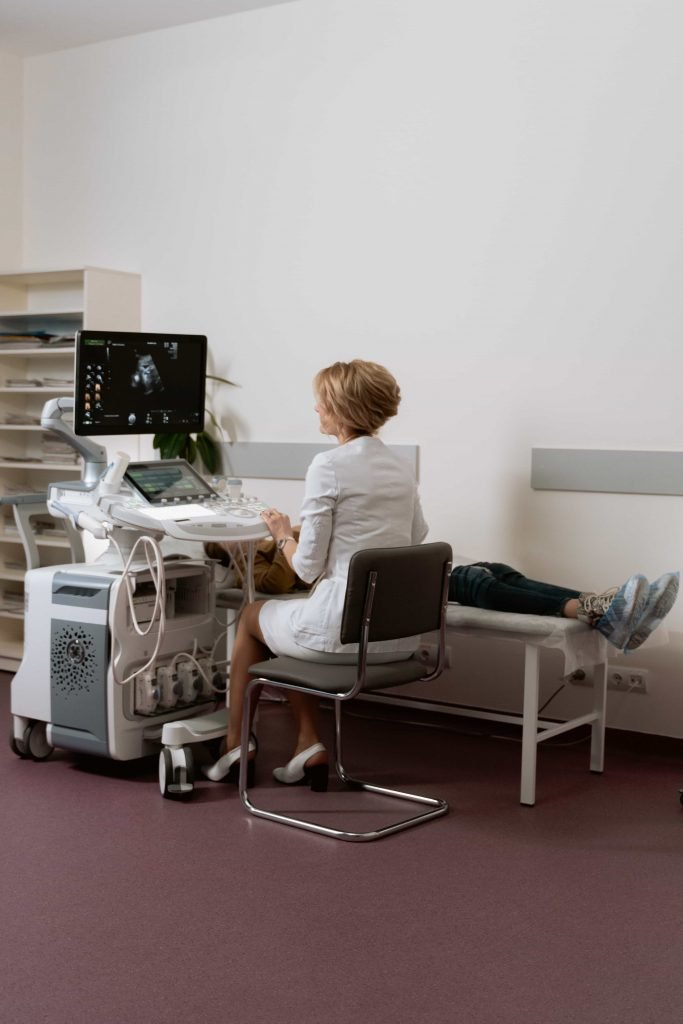 Ultrasound of PCOS patient