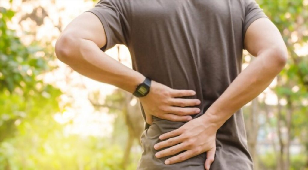 fasting lower back pain