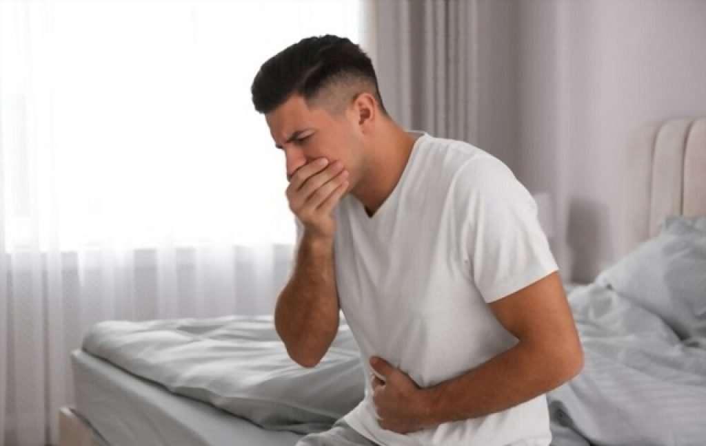 nausea before sneezing