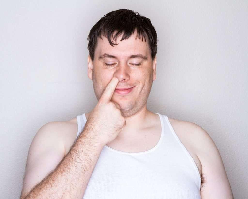nose--picking