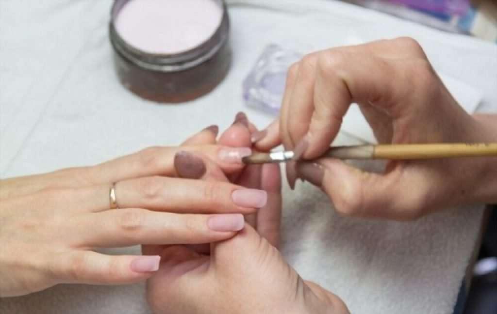 acrylic nail ripped off real nail