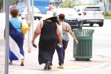 Why Do Fat People Waddle: The Biomechanics of Obesity